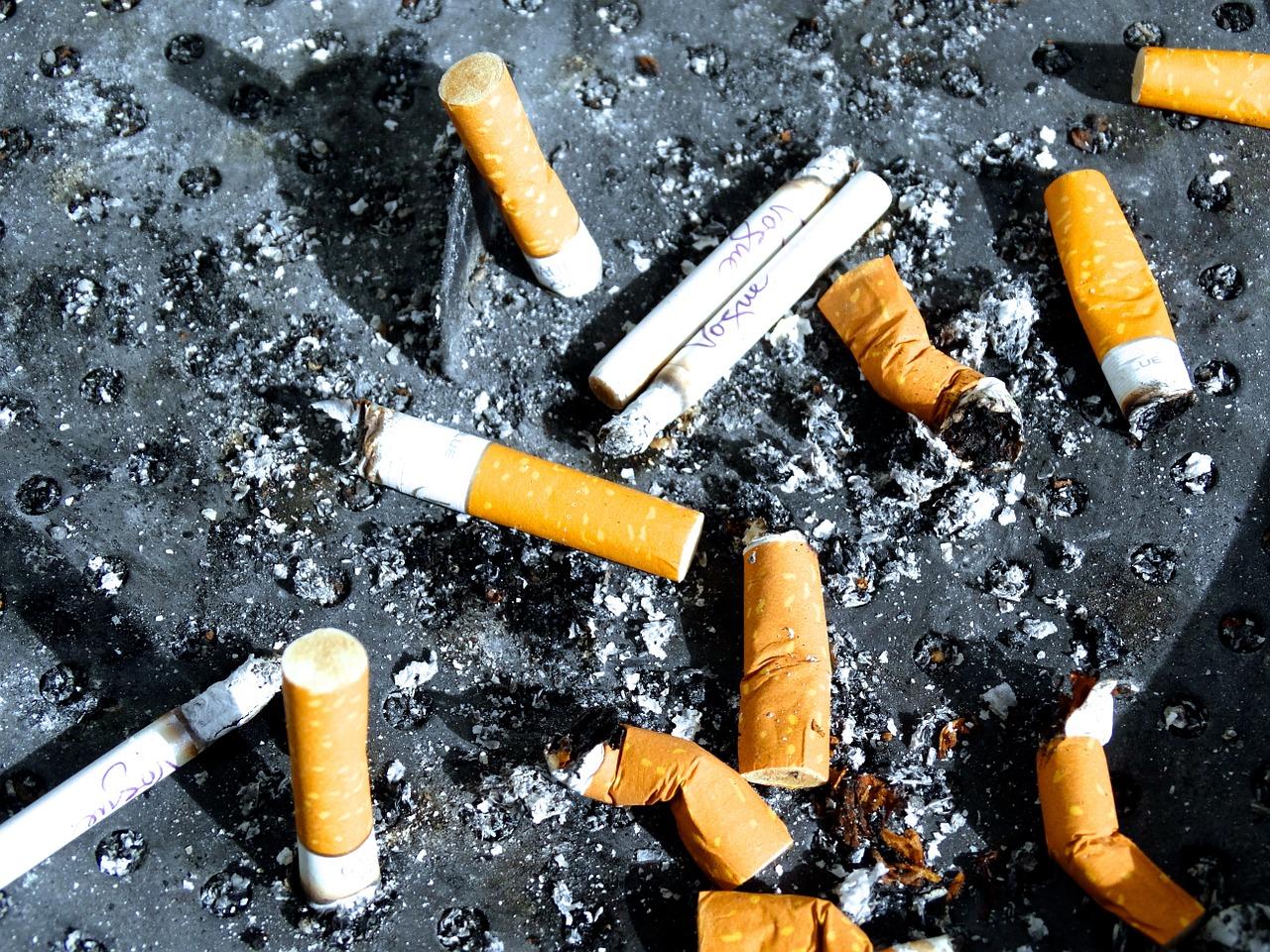 Bardzo wiele jednostkek uzalewżnionych jest od kurzenia papierosów